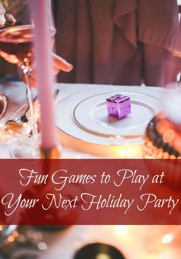 "Whether you're searching for adult party games, kids games, or office holiday party games, here are a few that fit into the ""everybody"" category. and are fun for all ages.  Including Dirty Santa / White Elephant and several more Christmas Party Games that are lots of fun."