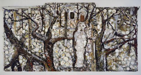 Collection Online   Julian Schnabel. The Student of Prague. 1983 - Guggenheim Museum