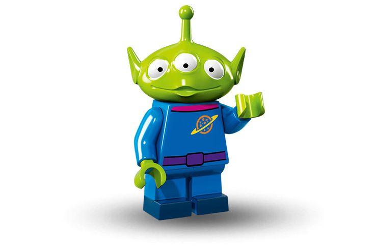 disney lego alien the little green man minifigures new with foil presale