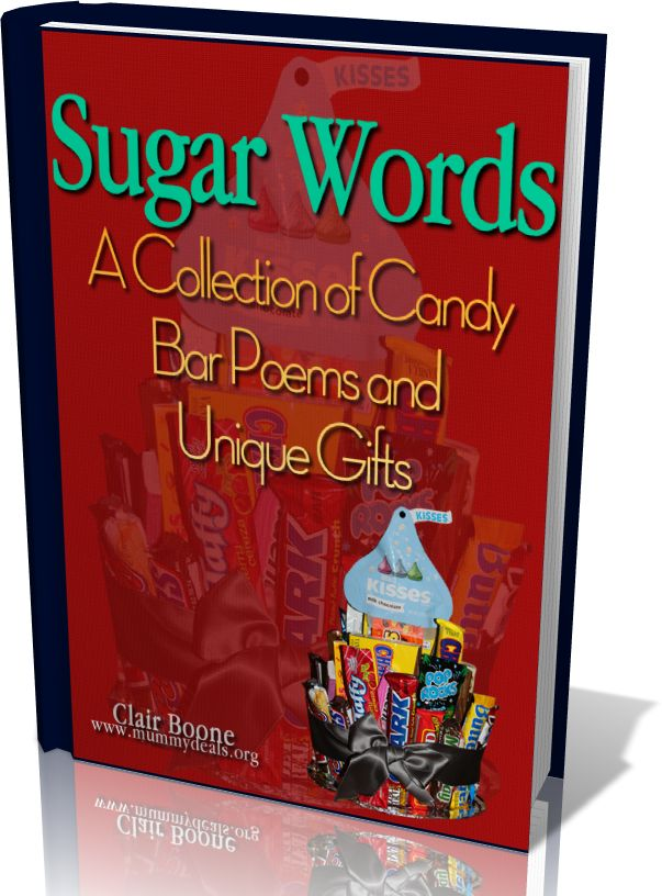 A collection of poems for all occasions made up of words/candy, very unique (e-book) whata sweet deal, cheap!