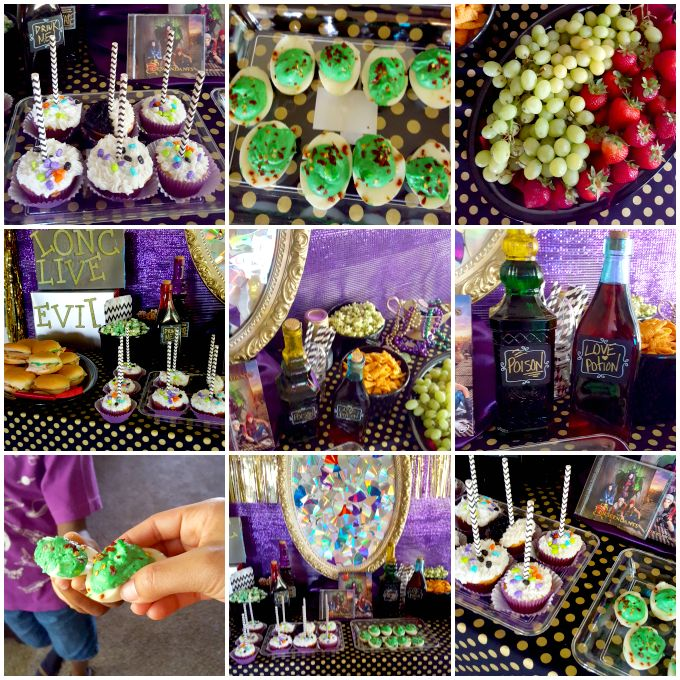 Plan the perfect Descendants party with these yummy themed goodies