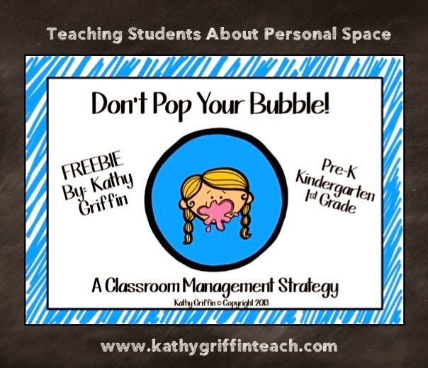 Fun way to teach your students about personal space.  Don't POP Your Bubble blogpost and FREEBIE.