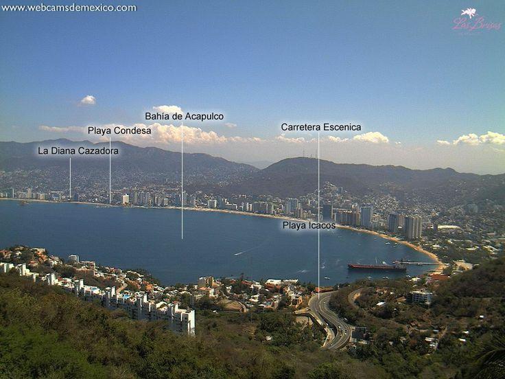 Acapulco - Guerrero - Panorámica - Webcams de México