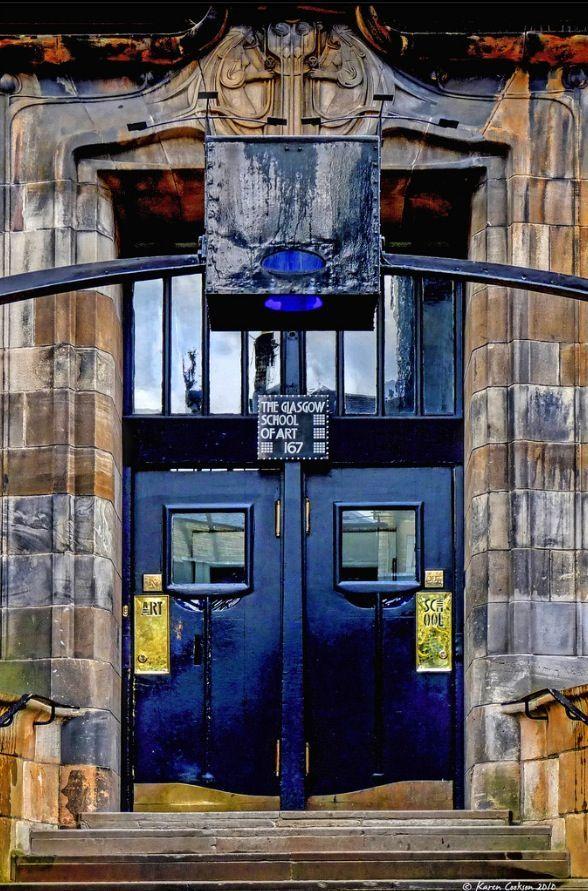 #mackintosh #scotland #glasgow #charles #school #rennie