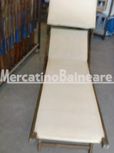 LETTINI IN LEGNO PEZZI 5 EURO 30.00 CAD. - Mercatino Balneare lettini in legno in discreto stato tela ecru senza scritta, prezzo cadauno iva esclusa Quantità:5 Prezzo €30.00+iva  http://www.mercatinobalneare.it/annuncio/lettini-in-legno-pezzi-5-euro-30-00-cad/  #stabilimentobalneare #attrezzaturabalneare #attrezzaturabalneareusata #mercatinobalneare #attrezzaturabalnearenuova #annunciusato #lido #spiaggia #camping