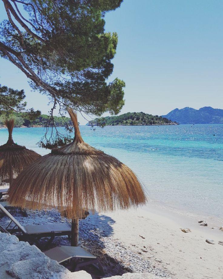 Tropical Feelings auf Mallorca in der Playa de Formentor! Traumstrand auf der Baleareninsel! Mehr Strände auf unserem Blog!