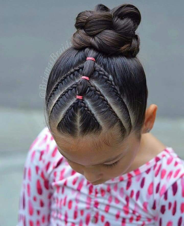 Pin By Jade Snyder On Peinados Con Ligas Y Trenzas Kids Hairstyles Girls Short Hair Styles Easy Kids Hairstyles