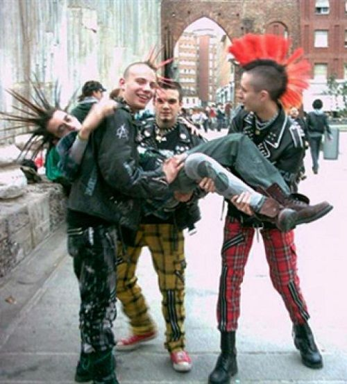 the punk rock culture A beginner's guide to punk rock posted on july 6, 2012 by chalk tweet  so it's these moments in history where musical culture starts to get a little slow,.