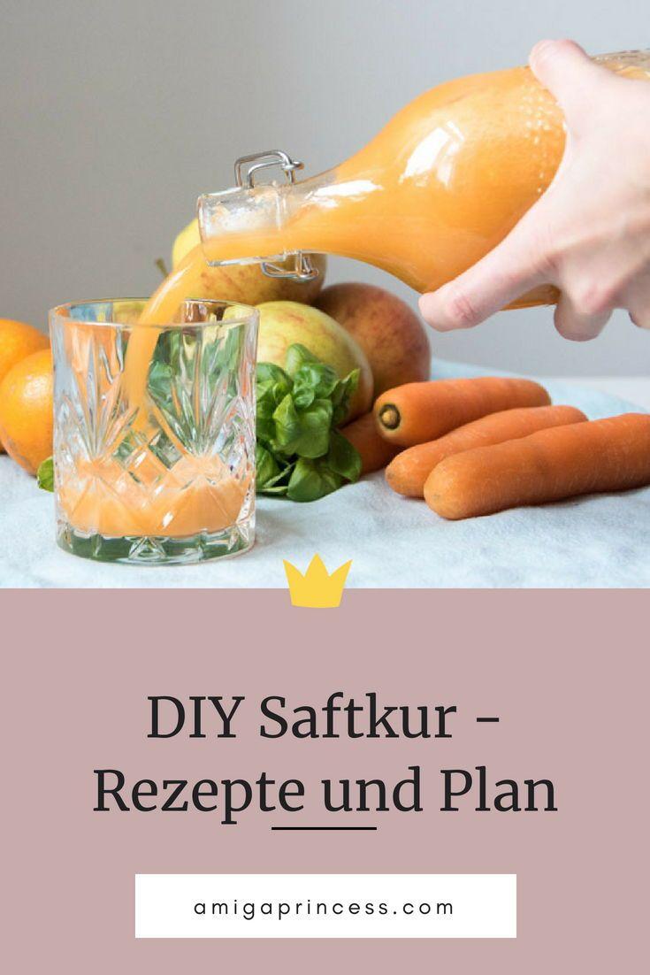 Saftkur Rezepte Fur 3 Tage Inkl Einkaufsliste Und Plan Amiga