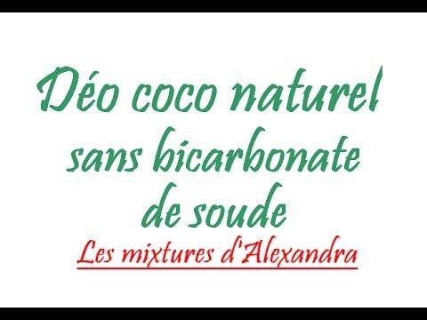Déodorant coco naturel (sans bicarbonate)