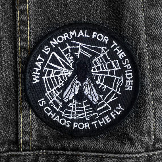 What is Normal Patch by Life Club  Patch denim jacket by LifeClub