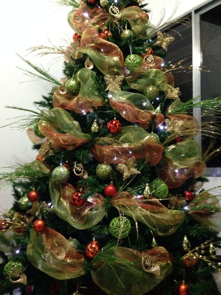 Arbol de navidad navidad decoracion pinterest navidad - Arbol de navidad decorado ...