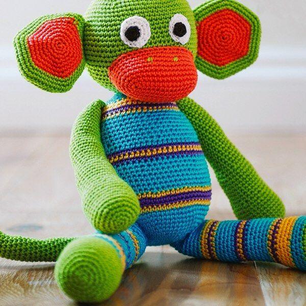 Tänk om jag hade en liten liten apa umpa umpa fallerallerej. Det kan du få nu om du virkar denna söta apa med garnet DMC Petra. Garn och beskrivning finns att klicka hem på knittingroom.se sök på artikelnummer 115318 #knittingroom #knittingroomse #sticka #virka #garn #DMC #DMCPetra #apa #djur #yarn #amigurumi by knittingroomse