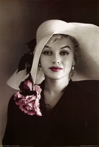 Marilyn Monroe (Love this shot - this photo is hanging in our guest bedroom!)