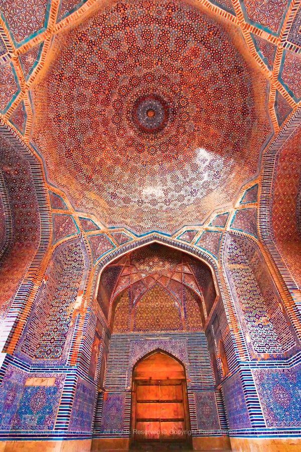 Shahjahan Mosque, Thatta, Sindh, Pakistan