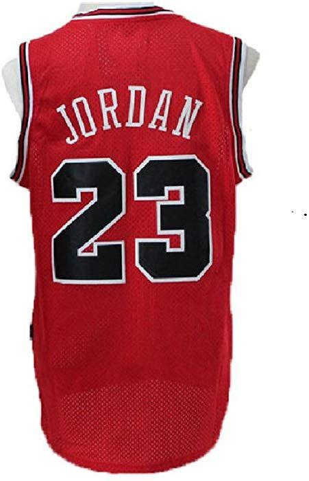 5c69ef0fe04 Amazon.com  meetziis Men s  23 Basketball Jerseys Retro Jersey Red(S-XXL)  (m)  Clothing