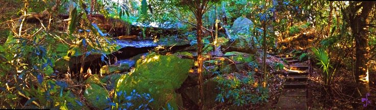 waterfall at Sungrado Park, Seaforth