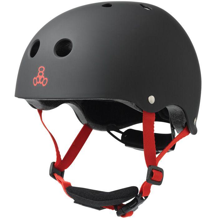 Triple Eight 888 Lil 8 Dual Certified EPS Skateboard Helmet