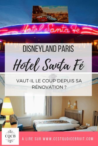 Dormir à Disneyland Paris : l'hôtel Santa Fe. A retrouver sur http://cestquoicebruit.com/voyage/disney-hotel-santa-fe-avis-famille/ #disney #disneylandparis #hotel #travel #blog #voyage