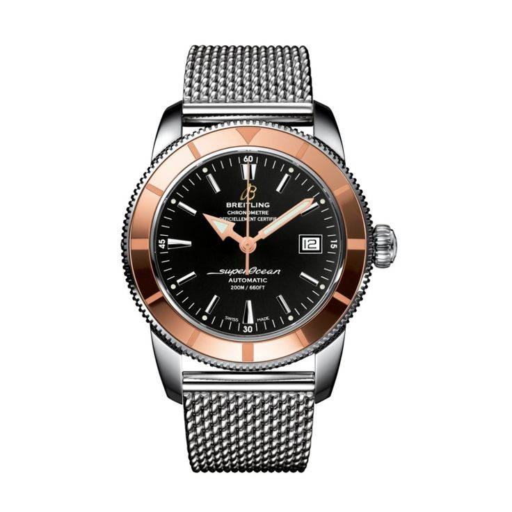 Breitling Gents Superocean Heritage 42 with Black Dial