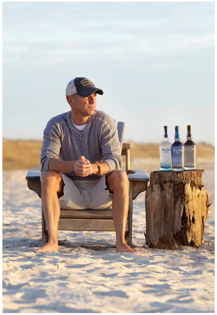 Blue Chair Bay Rum. Inspired by the island life of multi-platinum singer-songwriter Kenny Chesney.