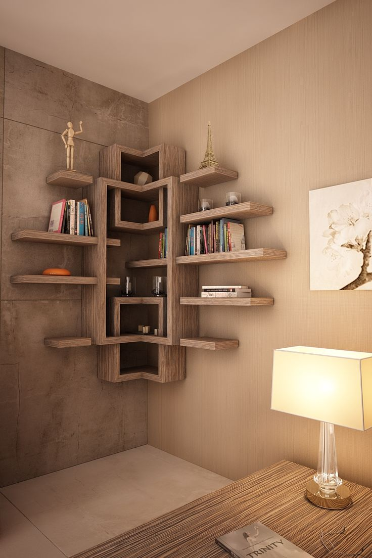 corner shelf by Novo Quadratum