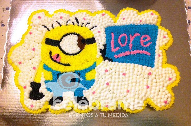 Pastel de cupcakes, Minions, Mi Villano Favorito / Despicable Me, Minion cupcake cake. www.celebrame.com.mx