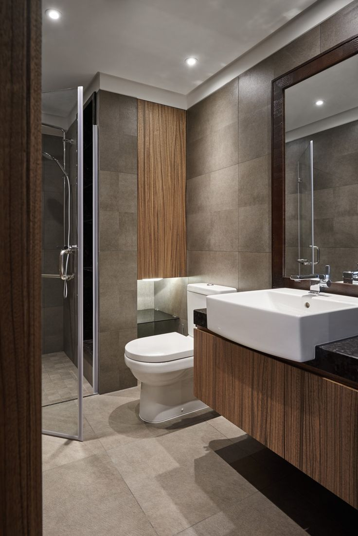 Clever small bathroom designs - Aura Lifestyle Two Story House Bathroom Modernsmall
