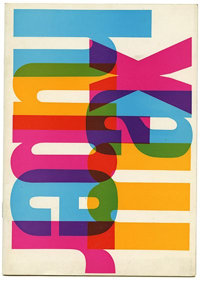 MAX HUBER Bruno Munari [introduction], 1971.