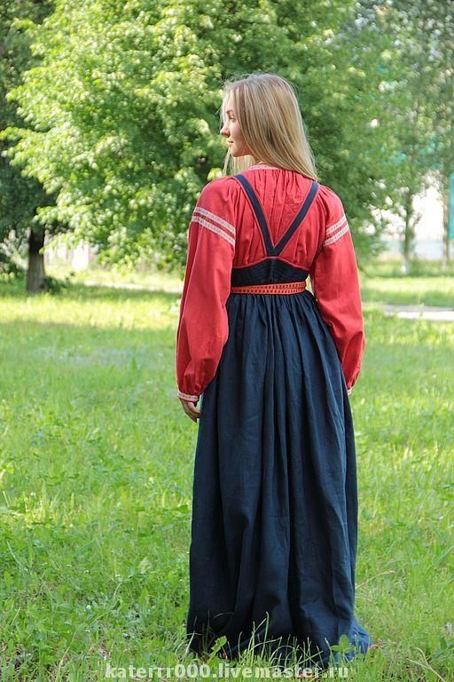 Купить Народный костюм мод. 7 - народный костюм, сарафан, русский народный костюм