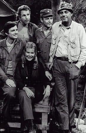 MASH. Alan Alda, Wayne Rogers, Loretta Swit, Larry Linville and McLean Stevenson