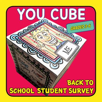 YOU CUBE is the best back to school student survey in a cube. The YOU CUBE is a brilliant back to school activity for you to use to get to know your students and for them to get to know each other. This resource includes: • A Letter