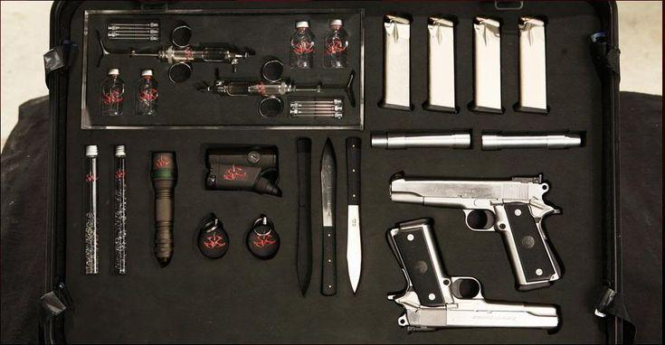 Agent 47 Briefcase