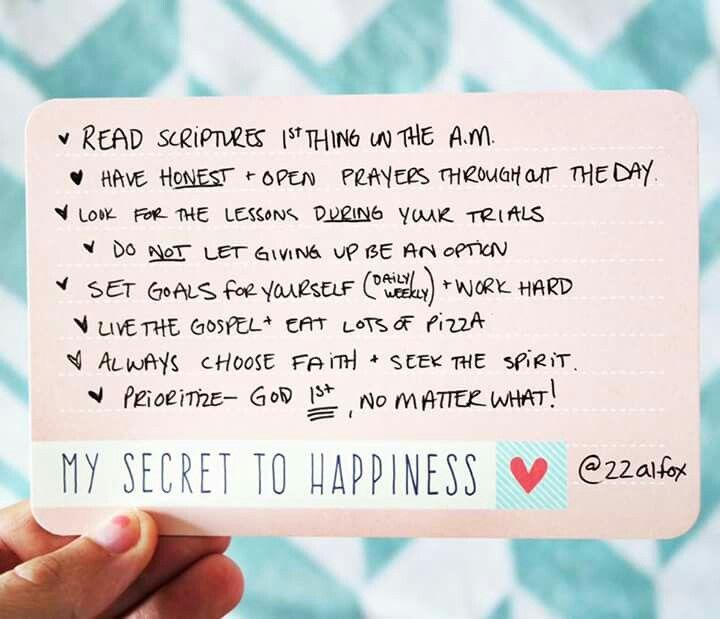 Secret to Happiness - Al (Fox) Carraway