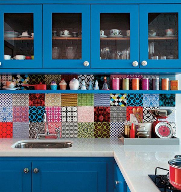 decoração-adesivo-de-azulejo8-chá-com-cupcakes