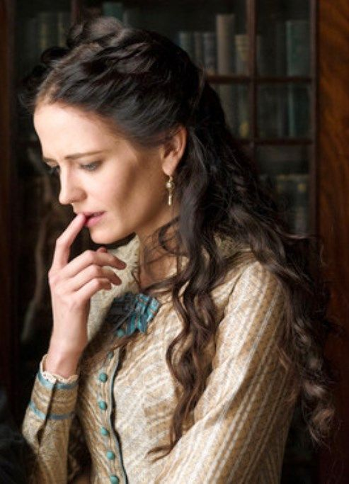 Eva Green | 'Penny Dreadful'- so pretty- one of the only times she wasn't wearing black in Season 1