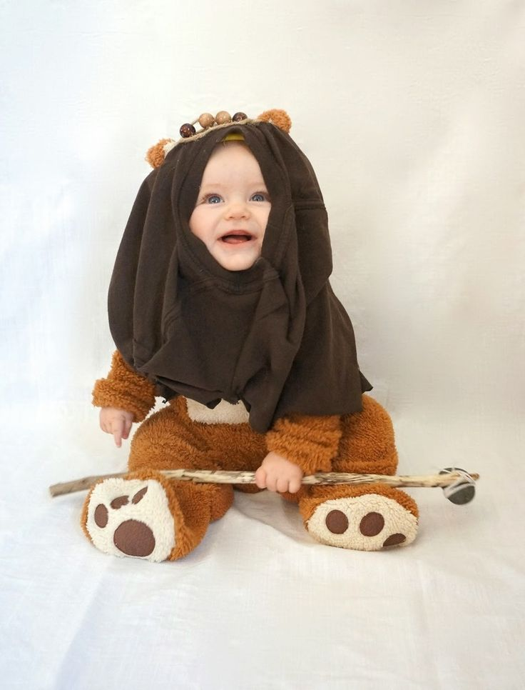 17 really cool diy star wars costumes for kids ewok. Black Bedroom Furniture Sets. Home Design Ideas