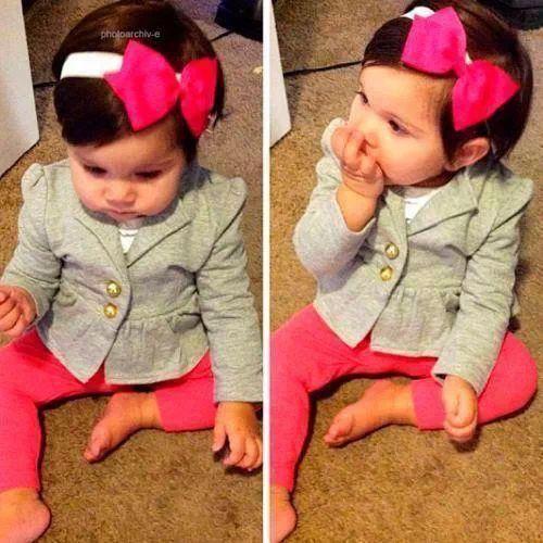 Adorable Baby Girl Fashion