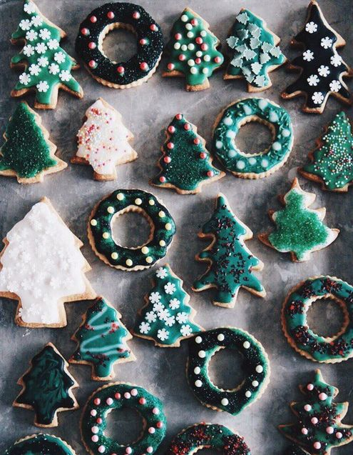 Evergreen cookies