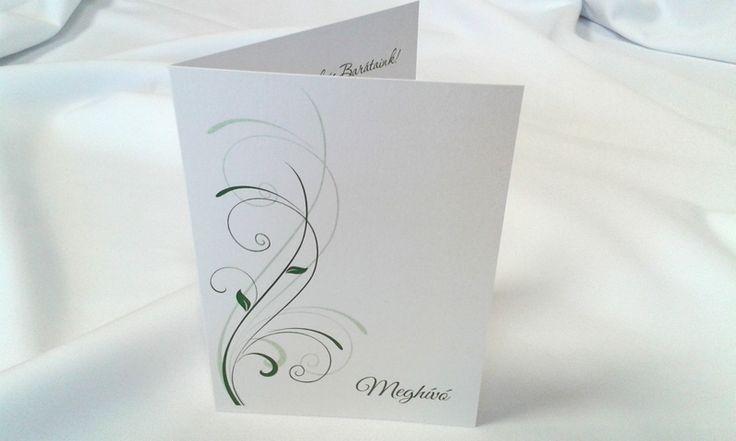 egyedi grafikus esküvői meghívó 077.1