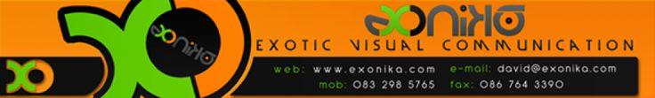 Corporate ID, Email Signature, Exonika