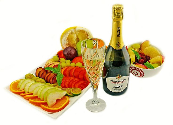 2015 Maschio Prosecco and fruits