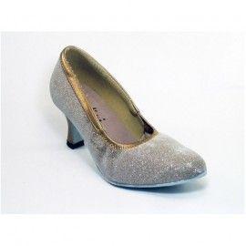 1000L CINDINI ballroom dames dansschoen Sparkle hakhoogte 6,5 cm | Ballroom Dames | DeJo`s Danceworld