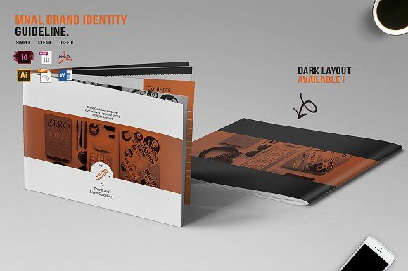 MNAL Brand Identity Guideline by BizzCreatives on @creativemarket
