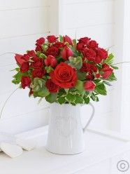 Be My Valentine Rose and Tulip Arrangement