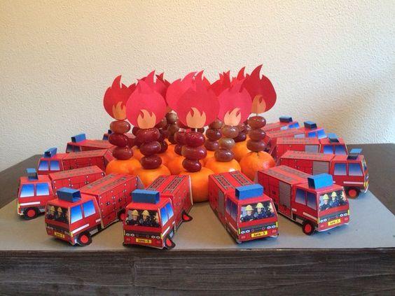 Afbeeldingsresultaat voor cake topper brandweer