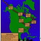 A map-based simple printable game to use when teaching kids about Natives and the Bering Land Bridge Theory.  Included are a full colour and easy-t...