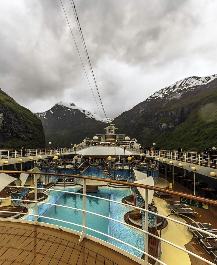 Time to leave Geiranger, Norway