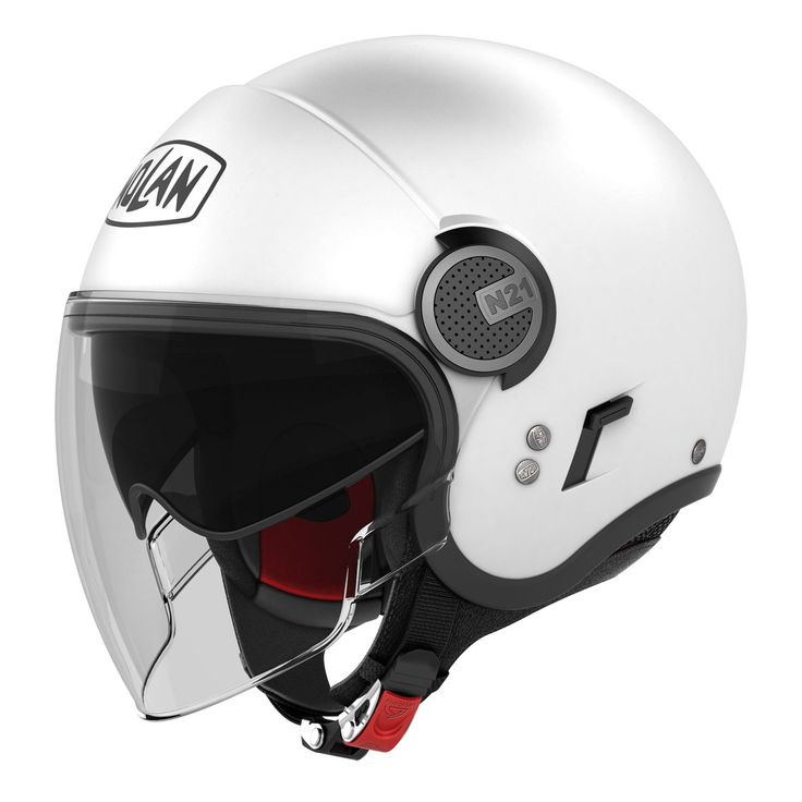 Kask Nolan N21 VISOR CLASSIC White  http://www.lidor.pl/kask-nolan-n21-visor-classic-m-white-5.html
