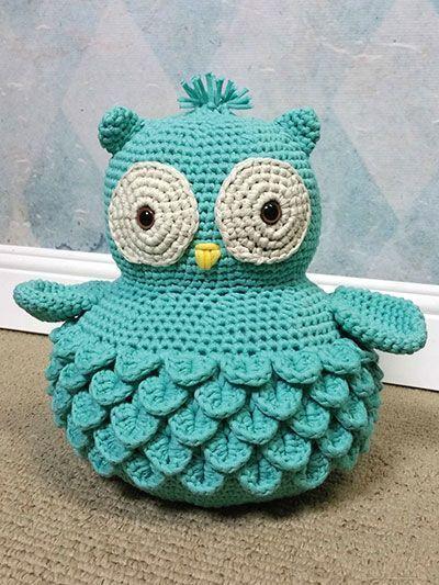Cotton Bear & Ollie Owl Crochet Pattern
